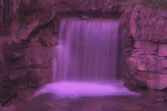 Time Ghosted Garden Waterfall with Magenta Tint Loop