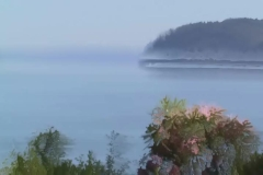 Time Ghosted & Organically Blurred loop of Hood Canal